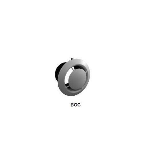 BOUCHE D'EXTRACTION PLASTIQUE SERIE BOC P Ø125MM